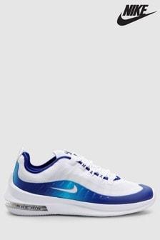 Nike White/Blue Air Max Axis