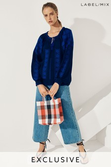Mix/LF Markey Wide Crop Jean