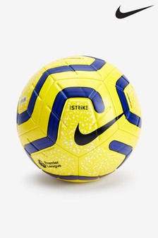 Nike Yellow Premier League Strike Football