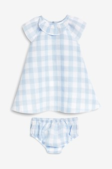 Gingham Dress (0mths-2yrs)