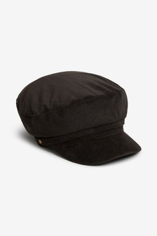 Cord Baker Boy Hat