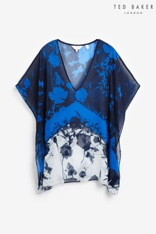 Ted Baker Blue V-Neck Cover Up