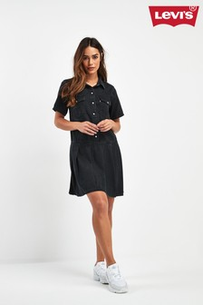 Levi's® Black Western Denim Dress