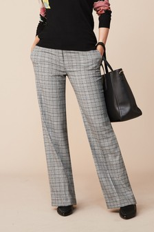 Wide Side Stripe Trousers