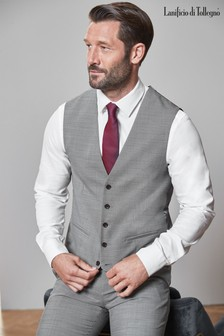 Tollegno Signature Stretch End On End Suit: Waistcoat
