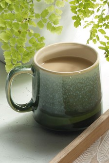 Set of 4 Fern Mugs