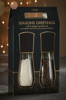 Salt And Pepper Grinder Gift Set