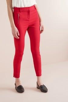 Spodnie Skinny Zip