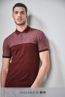 Контрастная рубашка поло