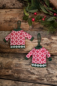 Set of 2 Jumper Decorations