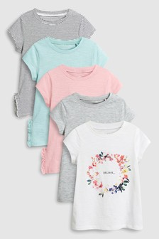 3a8bee4d541 T-Shirts Five Pack (3-16yrs)