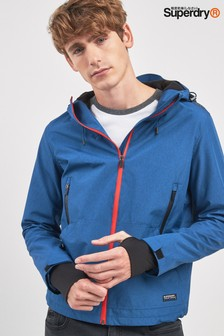 Superdry Blue Elite Windcheater Jacket