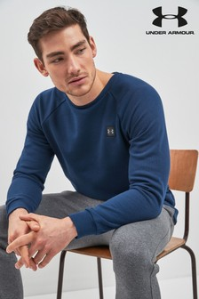 Under Armour Navy Rival Crew Sweater