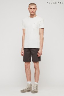 AllSaints Grey Cobalt Chino Short