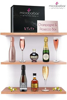 Champagne And Prosecco Box by MicroBarBox