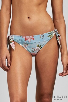 Ted Baker Pink Sydneey Choc Chip Knot Bikini Pant