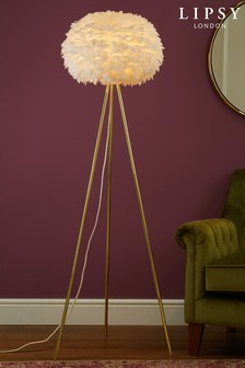 Lipsy Feather Floor Lamp