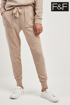 F&F Neutral Brushed Jogger