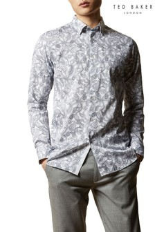 Ted Baker Forsure Paisley Printed Shirt