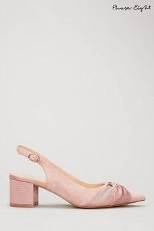 Blush Pink Kitten Heel Shoes Closeout Bc9a8 40a18