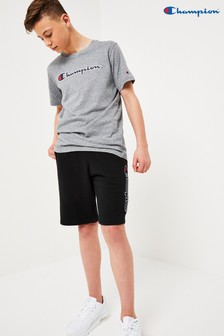 Champion Kids Logo Bermuda Shorts