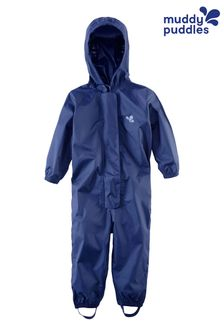 Muddy Puddles Navy Originals Waterproof Breathable Puddlesuit