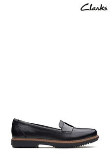 Clarks Black Raisie Arlie Shoe