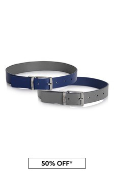 Emporio Armani Boys Reversible Belt