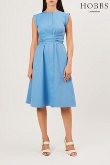 Hobbs Blue Eloise Dress