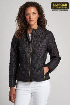 Barbour® International Quilted Freethrow Biker Jacket