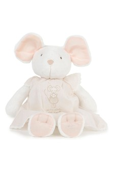 Baby Girls Mouse Soft Toy & Dress Set