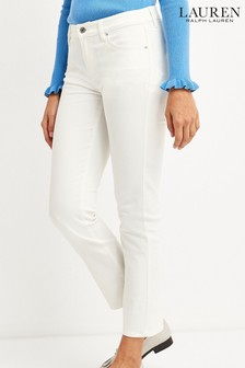 Lauren Ralph Lauren® Straight Fit Ankle Jeans