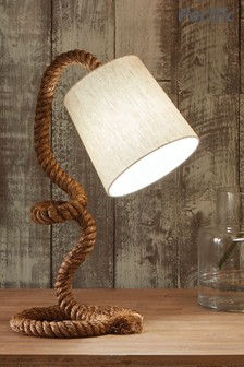 Martindale Rope and Jute Task Table Lamp by Pacific Lighting