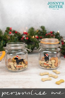 Personalised Dog Treat Jar by Jonny's Sister