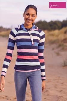 Joules Blue Hooded Sweatshirt