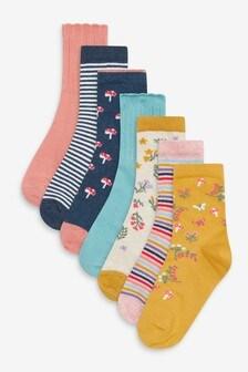 7 Pack Ankle Socks