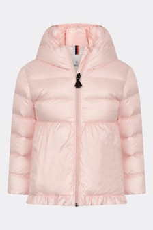 Baby Girls Light Pink Down Padded Odile Jacket