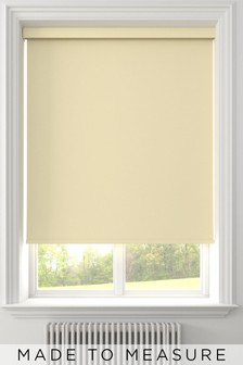Star BO Cream Made To Measure Blackout Roller Blind