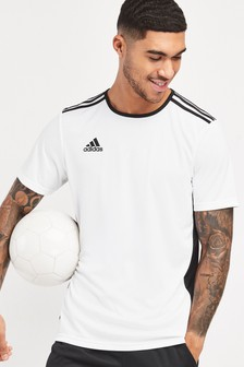 Белая футболка adidas Entrada