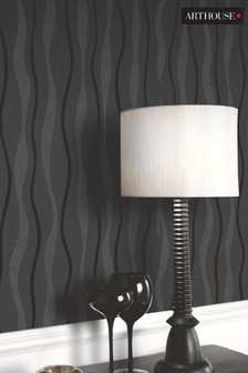 Glitz Wave Geo Wallpaper by Arthouse