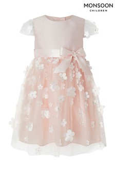 Monsoon Children Pink Baby Amrita Dress