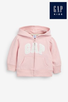 Gap Pink Full Zip Hoody