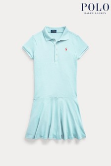 Ralph Lauren Turquoise Logo Polo Dress
