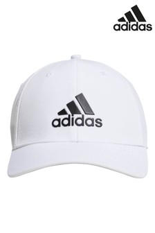 adidas Golf White Badge Of Sport Stretch Cap