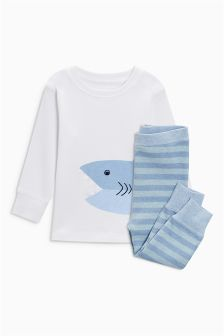 Shark Snuggle Fit Pyjamas (9mths-6yrs)