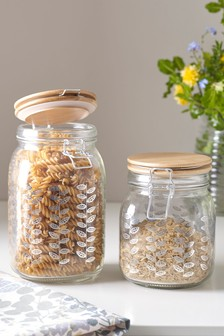 Nordic Clip Top Glass Jars