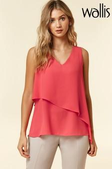 Wallis Pink Asymmetric Cami