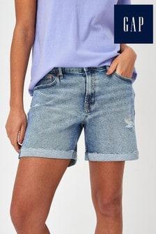 Gap Distressed Denim Shorts