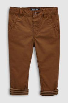 Pantaloni chino cu căptușeală (3 luni - 6 ani)