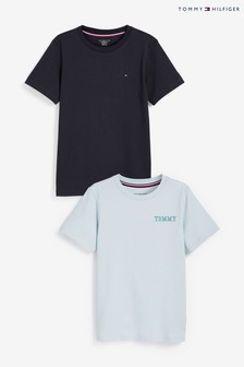 Tommy Hilfiger Blue T-Shirts Two Pack